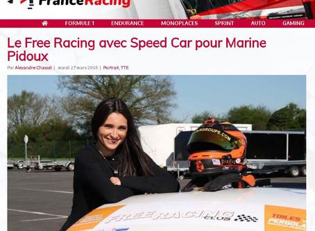 Le Free Racing avec Speed Car pour Marine Pidoux