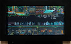 Cosmopolis, 50x25 cm 2018