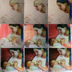 Process of making the Madonna