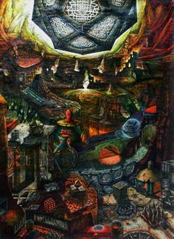 The Last Judgement - Central Panel 110x8