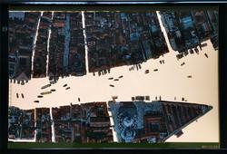 Mirroring city, 49x51 cm, 2019
