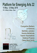 Exhibition in Leyden gallery, London