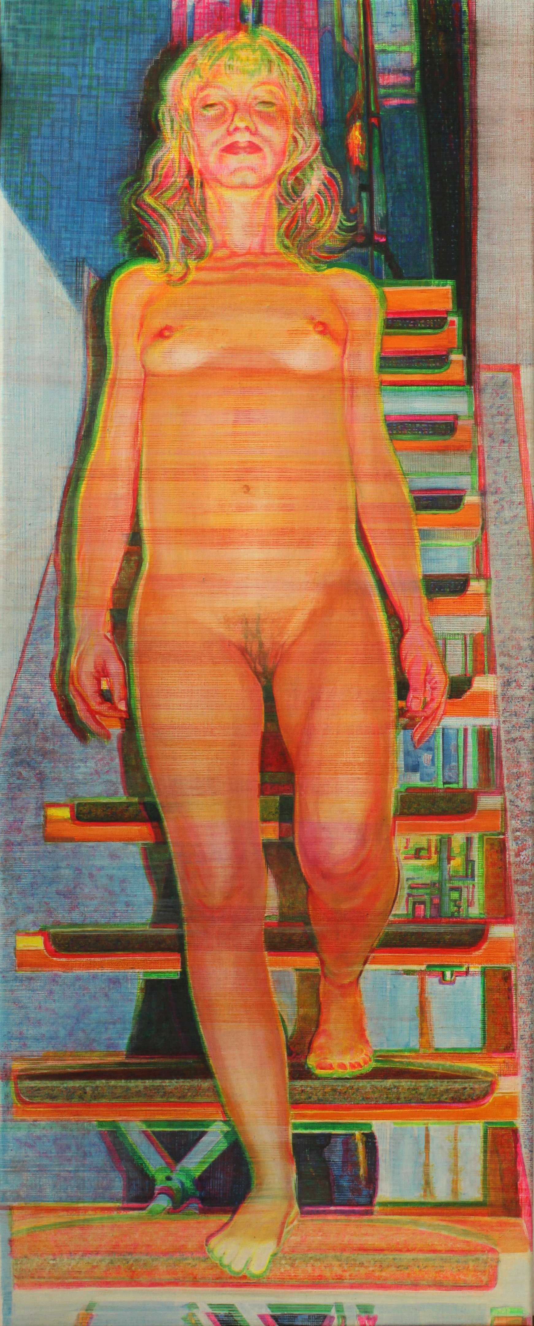 Nude descending a staircase (SOLD)