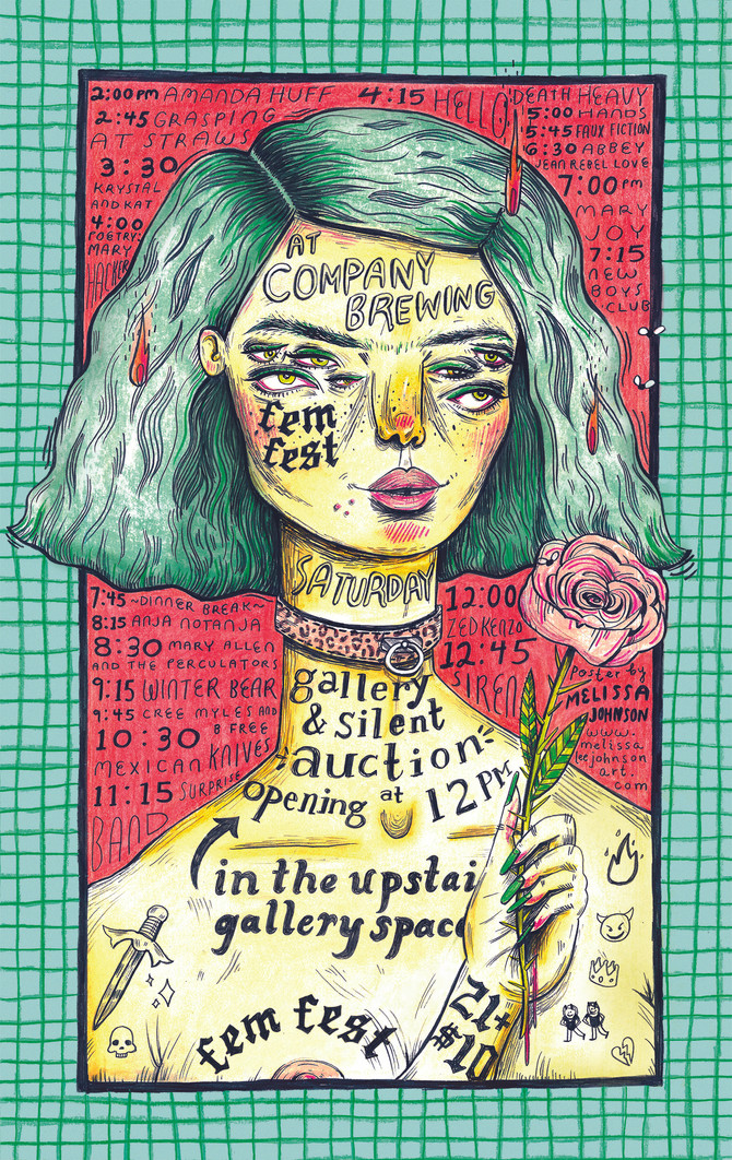 Riverwest FemFest Posters Released!