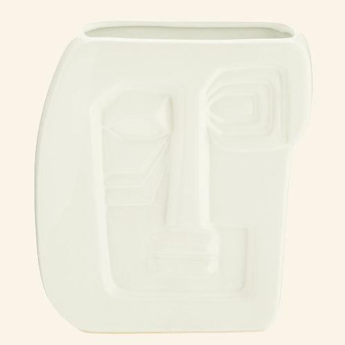 Faceprint vase