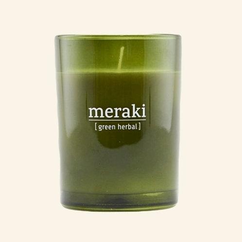 Bougie Meraki Green Herbal