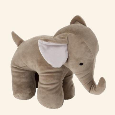 Bloc-porte Éléphant peluche