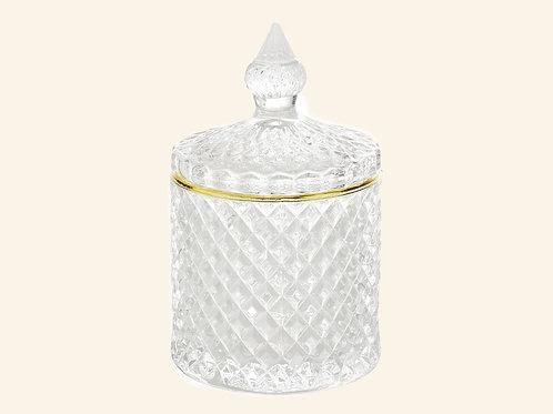 Diamond boîte en verre