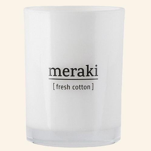 Bougie Meraki Fresh cotton