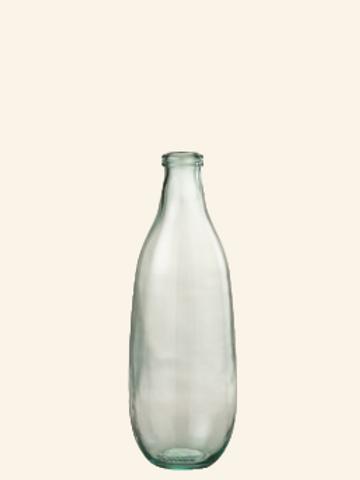 Verre vase bouteille