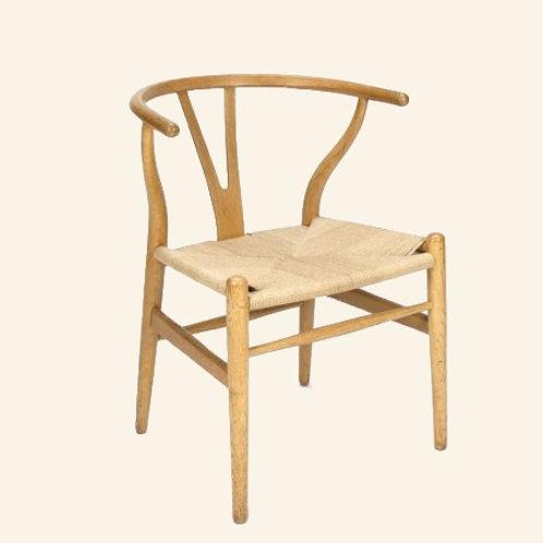 Chaise en frêne naturel