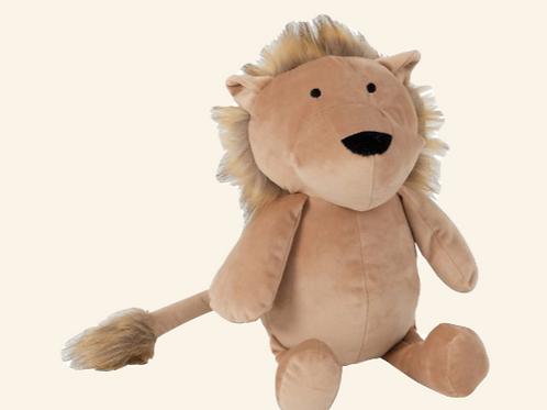 Bloc-porte Lion peluche