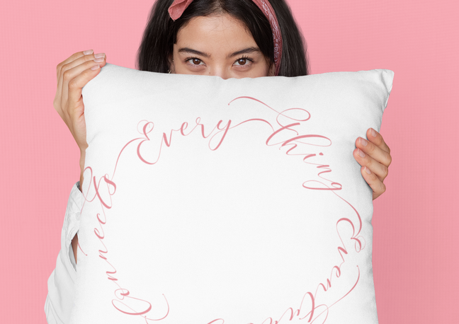 everything eventually connects pillows