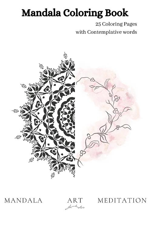 Mandala Coloring Book - Pdf Version