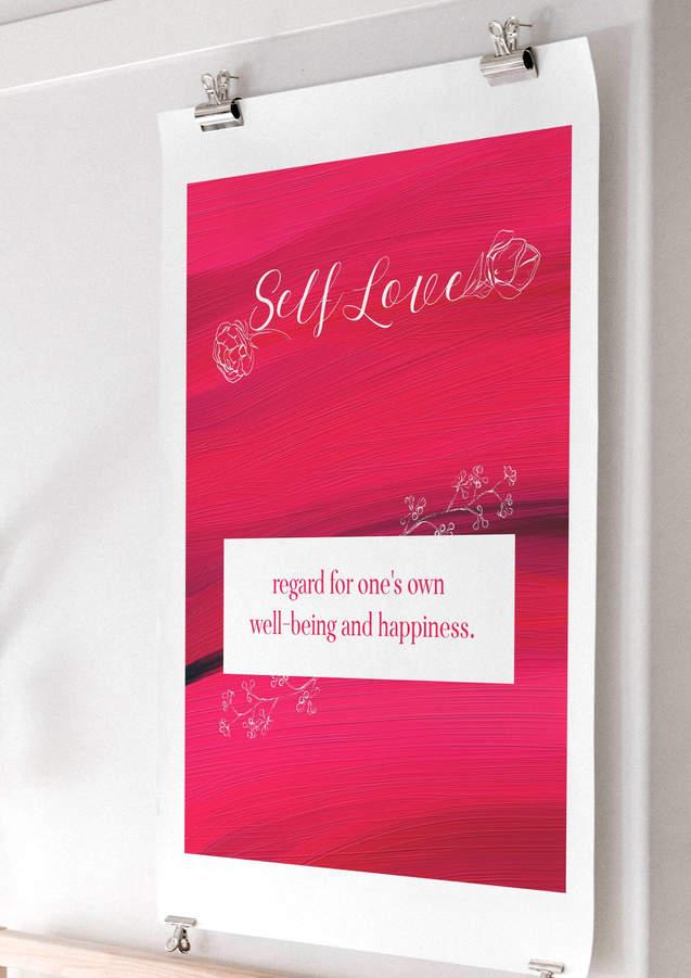 self love art print