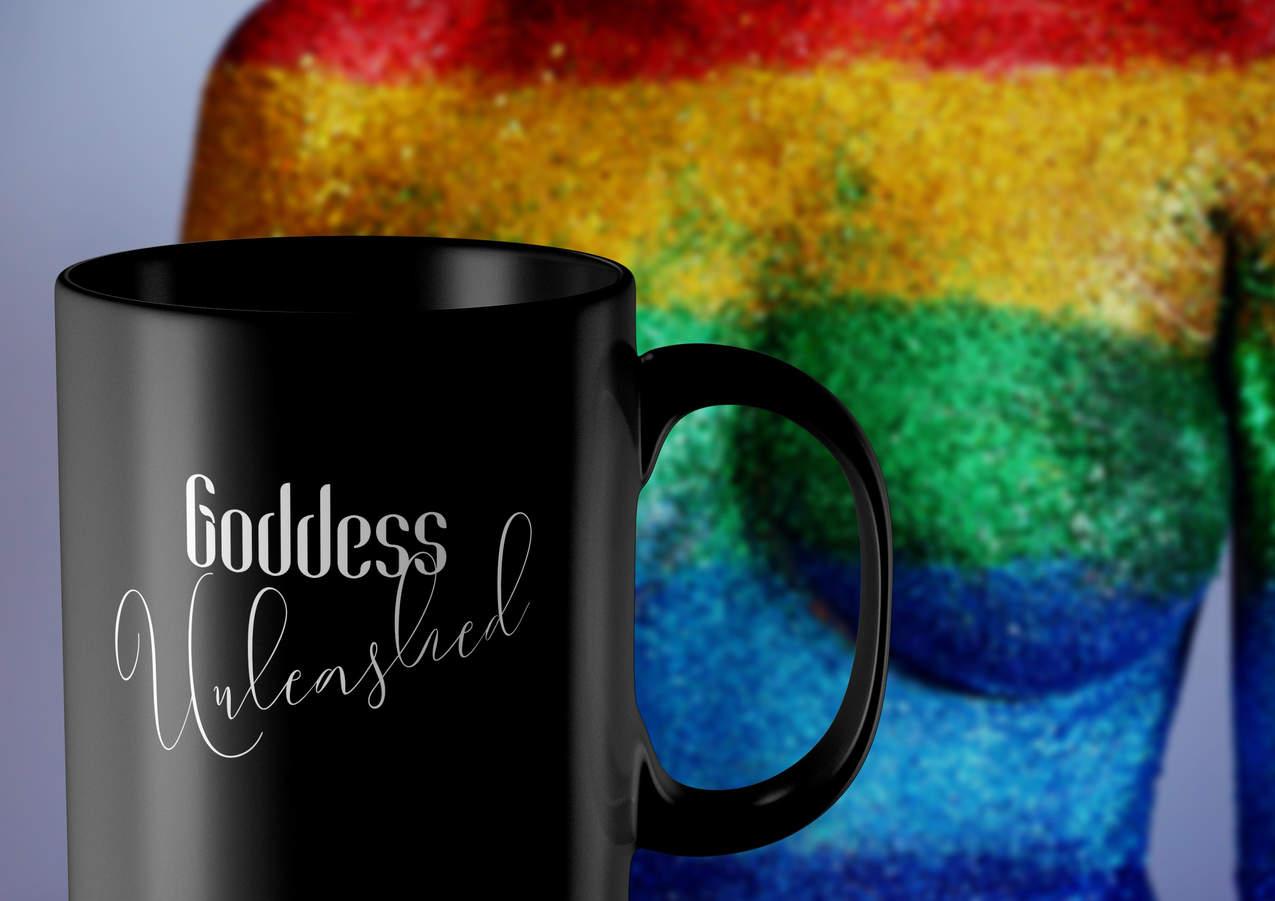 goddess unleashed coffee mug