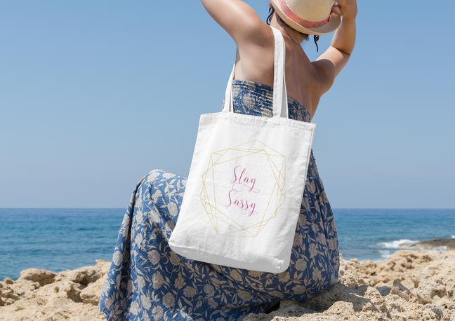 stay sassy tote bag
