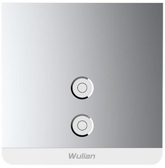 Smart Metallic Switch (Two-Gang,L/L&N)