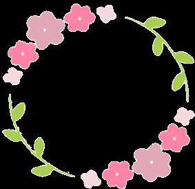 花フレーム丸ピンク.png