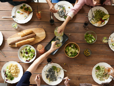 """How to Stay Sane During Lockdown: """"Virtual Dinner Party"""""""