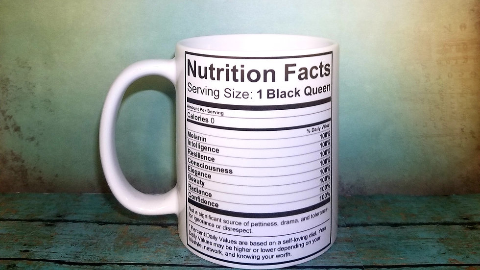 Nutrition Facts - Queen