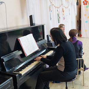 Выступление в детском саду №396