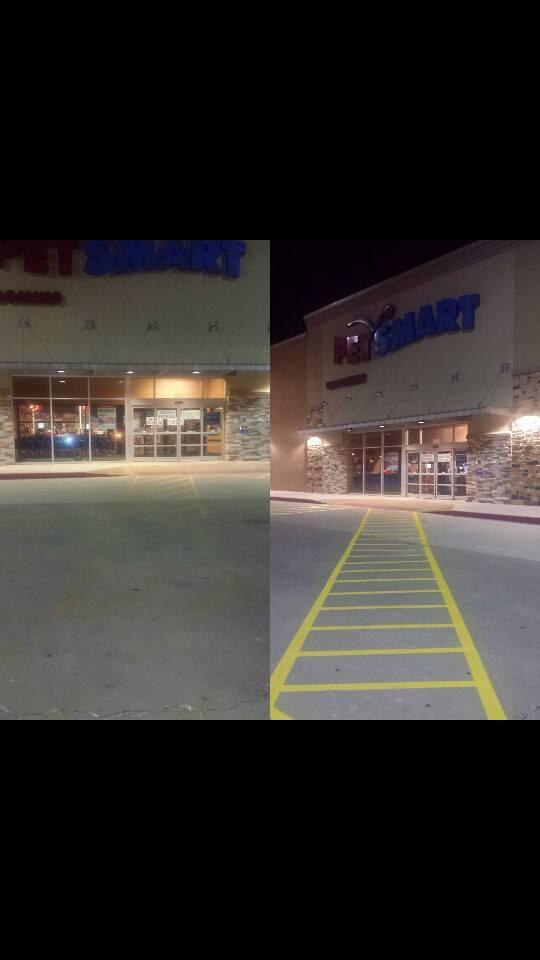 Parking Lot Striping Tulsa Oklahoma