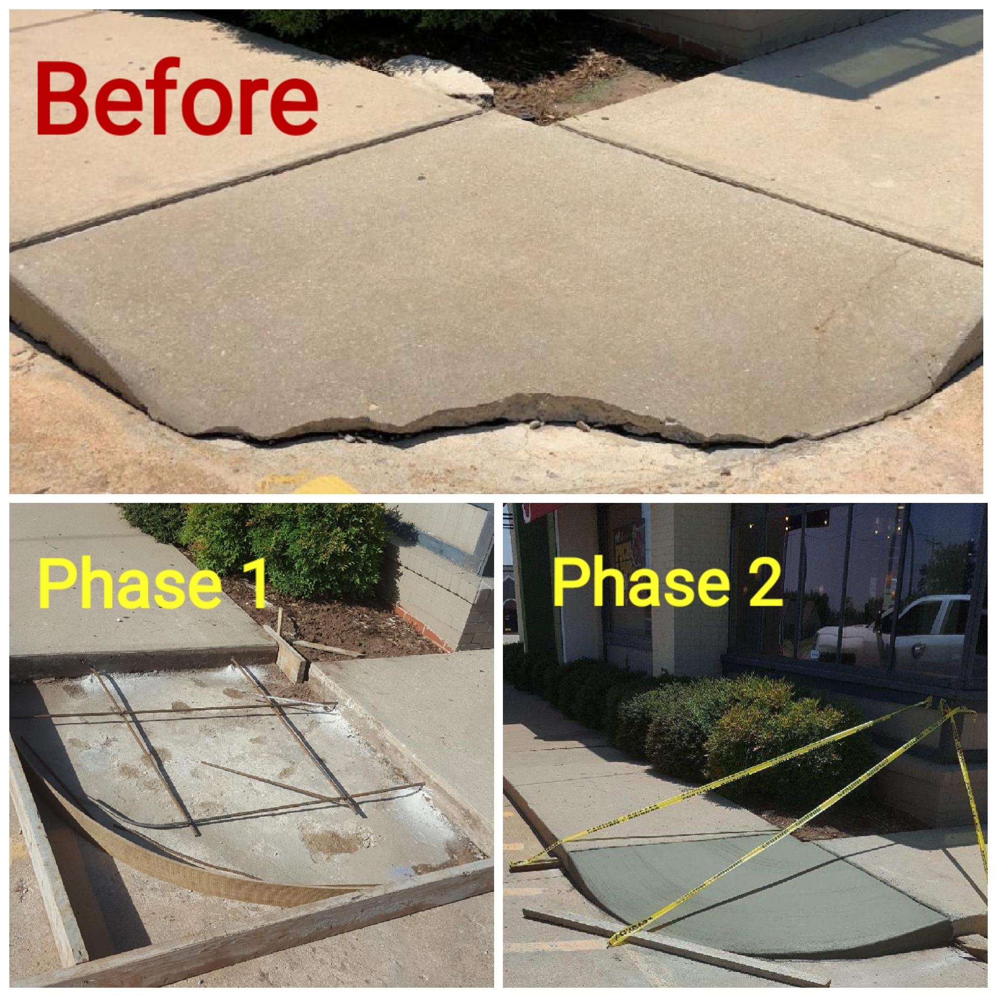Concrete Paving Repair Tulsa Oklahoma Ci