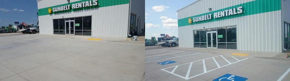 Parking Lot Striping Oklahoma Tulsa