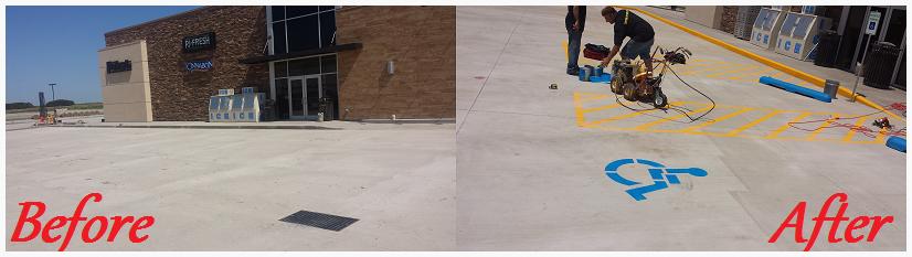 Parking Lot Striping Oklahoma City