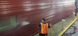 Exterior Building Pressure Wash