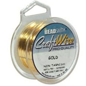 One Spool 20G Gold Craft Wire