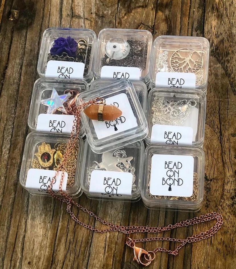 charm necklace cubes