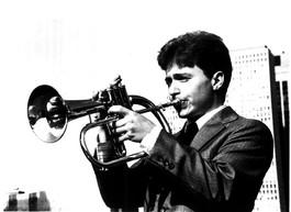 Brad Goode, 1985 Promo Shot (Lincoln Park, Chicago)