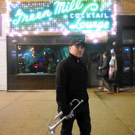 Outside the Green Mill (Chicago, 2017)