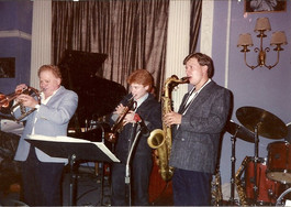 With Red Rodney & Chris Potter, Jazz Showcase (Chicago, early 1990's)