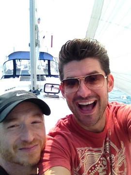With Matt Dusk (Toronto, 2013)