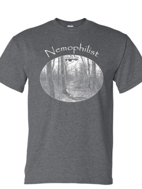 Nemophilist - Dark Heather Moisture Wicking T