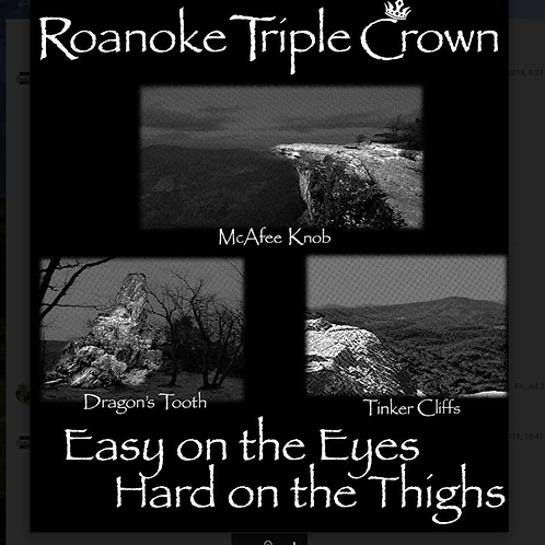Roanoke Triple Crown Magnet