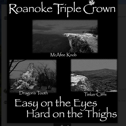 Roanoke Triple Crown Sticker