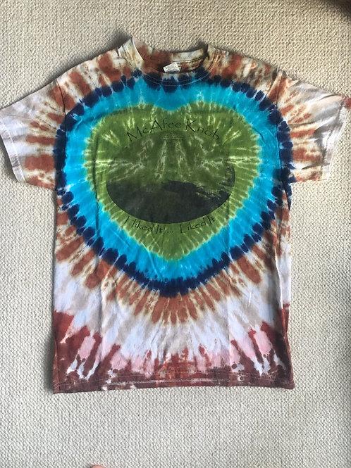 McAfee Knob Earth Tone Tye Dye - 100% Cotton