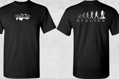 Evolve T Shirt - Black - 100% Cotton