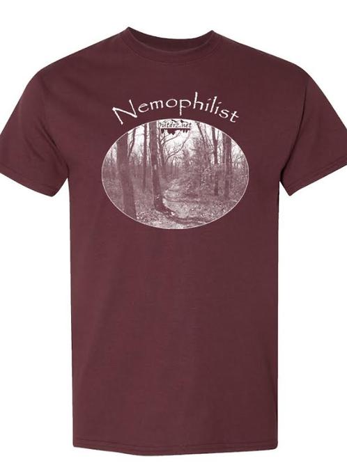 Nemophilist - Sport Dark Maroon Moisture Wicking T