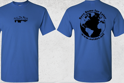 Save Some for Later T Shirt - Royal - 100% Cotton