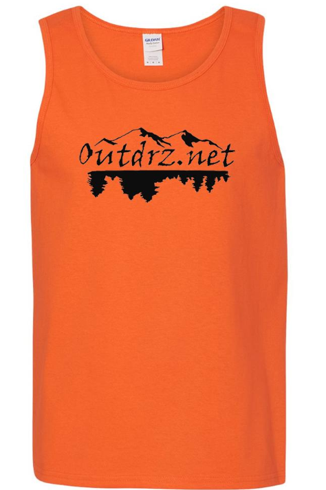 Logo Tank - Orange 100% Cotton