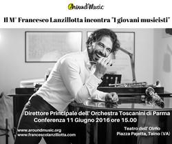 Conferenza M° Francesco Lanzillotta