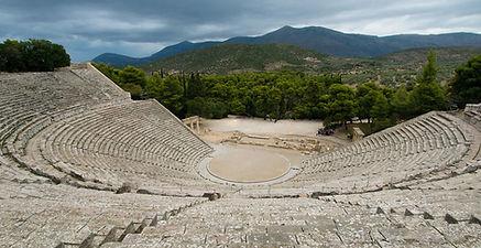 Théâtre d'Épidaure, Péloponnèse, Grèce