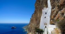 L'ile du Grand Bleu et son impressionnant monastère