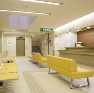Waiting areas for hospitals and long-term care facilities