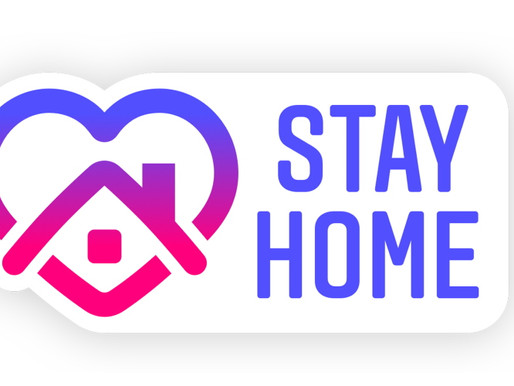"""Promote social distancing to your followers with the new Instagram, """"stay home"""" sticker."""